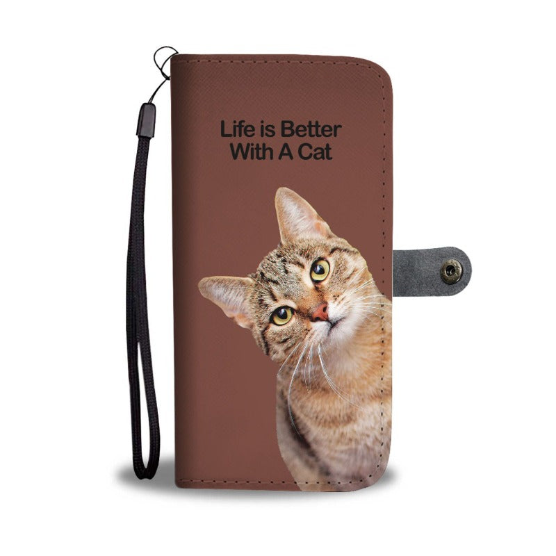 Kitty Cat Wallet w/ Universal Phone Case - Cute Cats Store