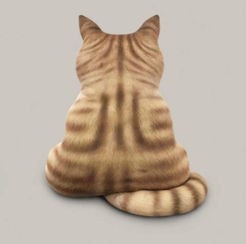 Image of cat back pillow - Cute Cats Store