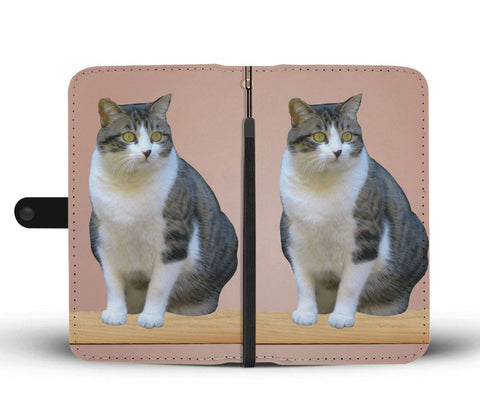 Image of cat wallet phone case - Cute Cats Store