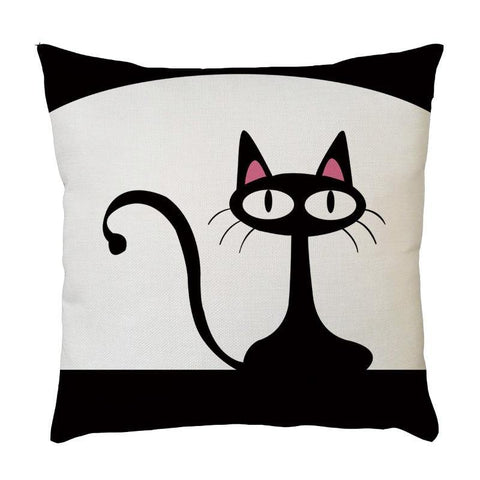 Cat Pillow Cover - Cute Cats Store