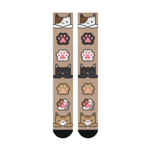 socks with cats on them - Cute Cats Store