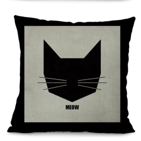 cat pillow print - Cute Cats Store