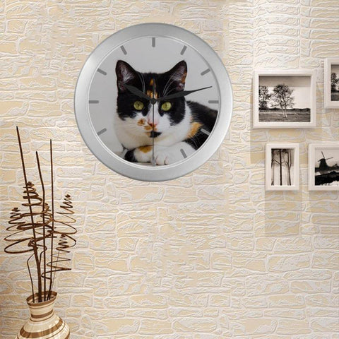 calico cat wall clock - Cute Cats Store