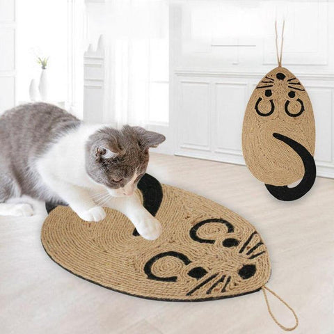 Image of sisal scratching mat - Cute Cats Store