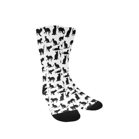 black cat socks - Cute Cats Store