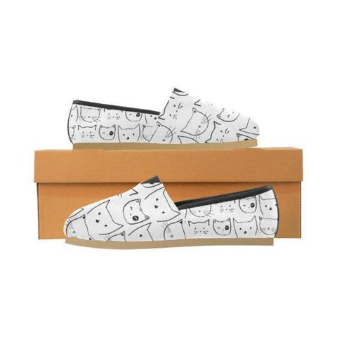 Image of Kitty Slip-ons - Cute Cats Store