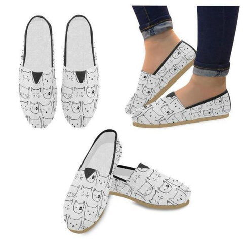Image of cat lovers shoes design - Cute Cats Store
