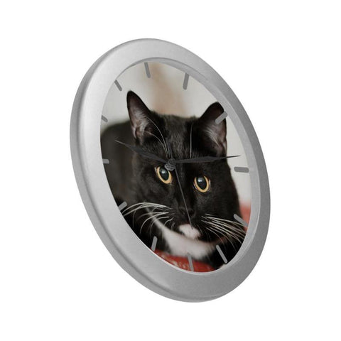 cute cat wall clock - Cute Cats Store
