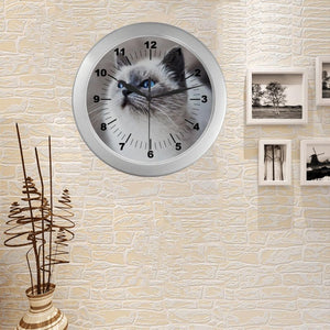 siamese wall clock - Cute Cats Store