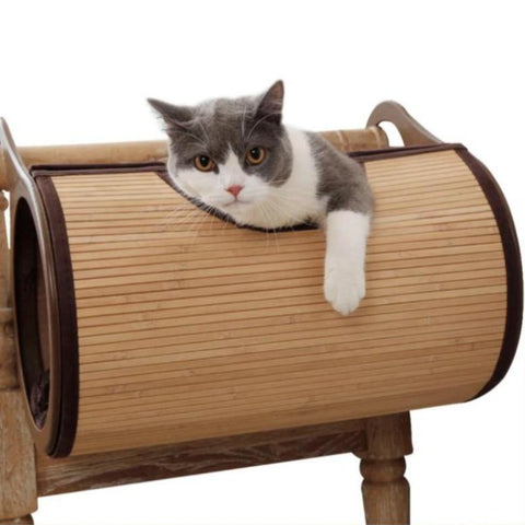 Image of Bamboo Radiator Cat Bed - Cute Cats Store