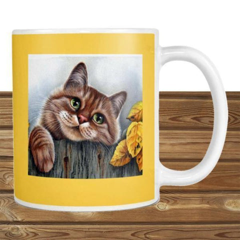 cat ceramic mug - Cute Cats Store