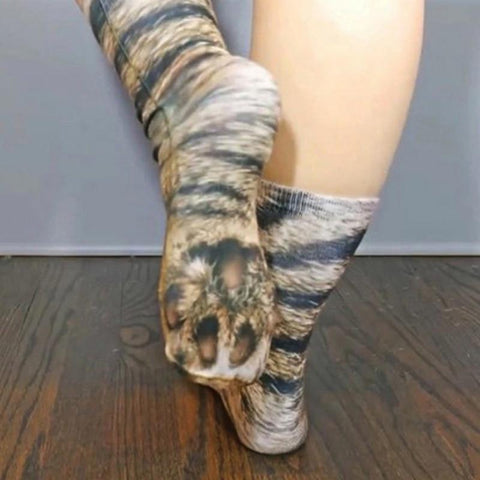 cat paw print socks - Cute Cats Store