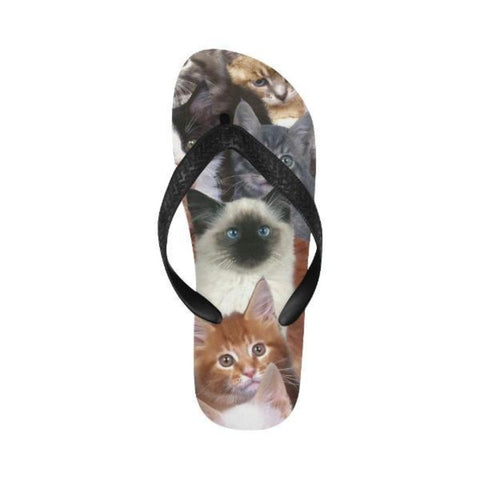 Image of Kitty Cat Flip Flops - Cute Cats Store