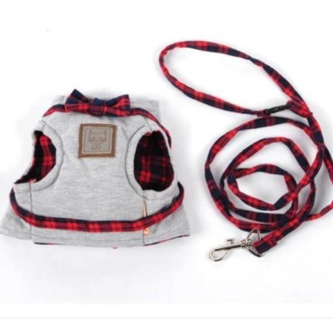 Image of cat walking leash harness - Cute Cats Store