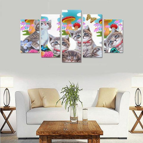 Image of cat canvas art - Cute Cats Store