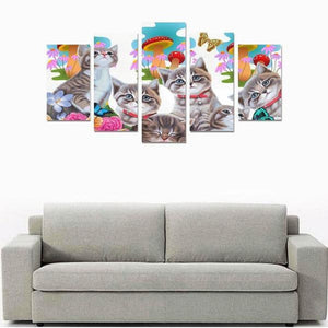 cat wall art canvas - Cute Cats Store