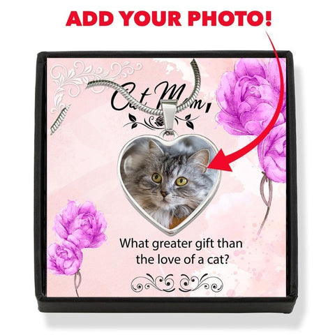 Image of custom cat necklace - Cute Cats Store