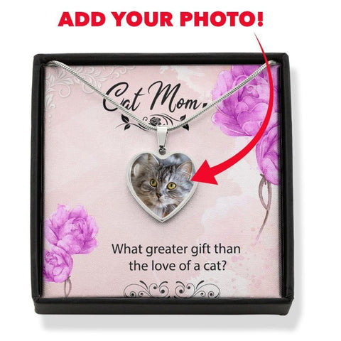 Personalized Cat Necklace - Cute Cats Store