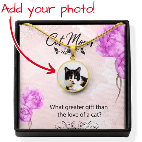 Image of cat mom necklace - Cute Cats Store