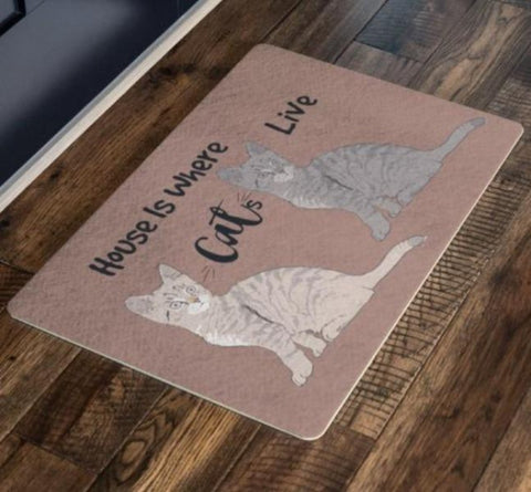 cat doormat - Cute Cats Store