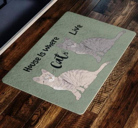 Image of rugs with cats on them - Cute Cats Store