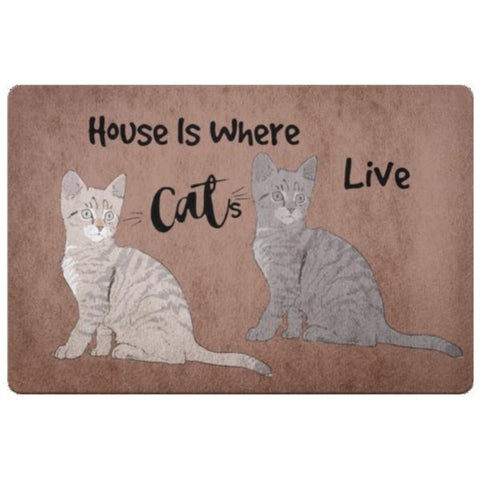 Image of cat themed rugs - Cute Cats Store