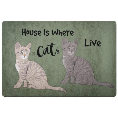 Image of cat floor mats - Cute Cats Store