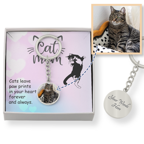 Image of cat keychain - Cute Cats Store