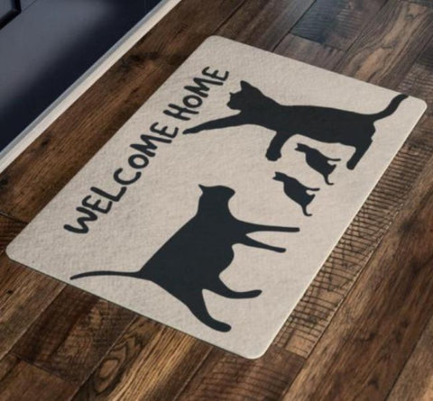 cat floor mats - Cute Cats Store