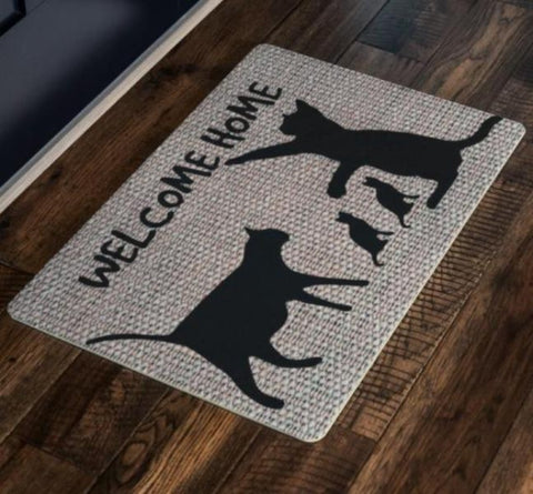 rugs with cats on them - Cute Cats Store