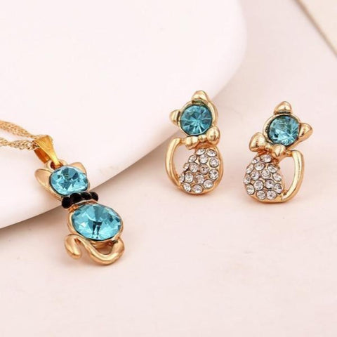 Jewelry Set - Cute Cats Store