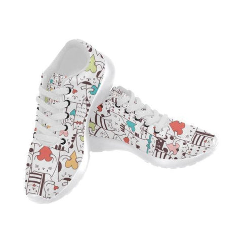 Image of Cute Cats Sneakers - Cute Cats Store