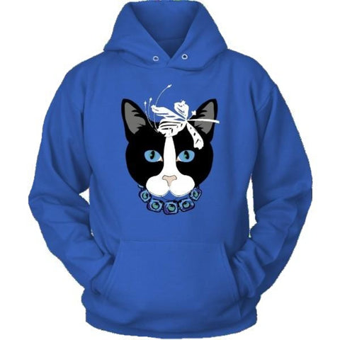 Image of Cat Design Hoodie - Cute Cats Store
