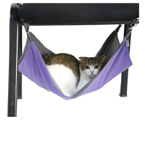 Image of cat hammock under chair - Cute Cats Store