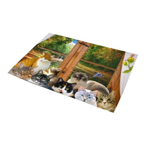 Image of cat area rugs - Cute Cats Store