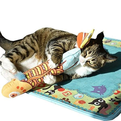 Image of Cute Catnip Fish Cat Toy - Cute Cats Store