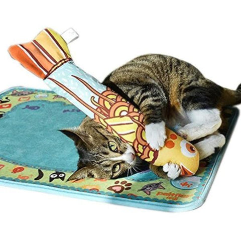 cat catnip fish toy - Cute Cats Store