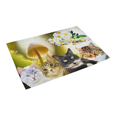 cat print mat - Cute Cats Store