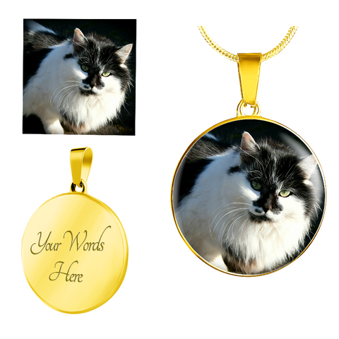 Image of personalised cat necklace - Cute Cats Store