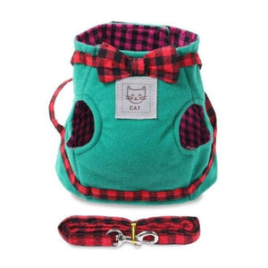 escape proof cat harness with leash - Cute Cats Store