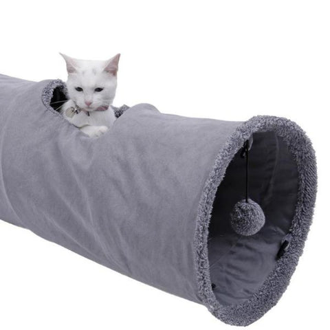Cat Tunnel With Ball - Cute Cats Store