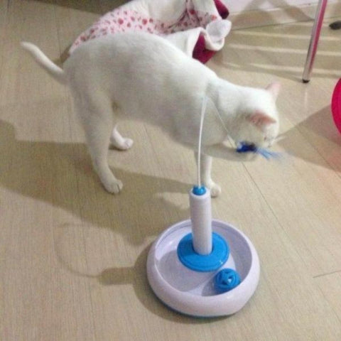 Image of Cat Interactive Turntable - Cute Cats Store