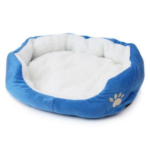 Cat Bed Blue / 50X40cm - Cute Cats Store