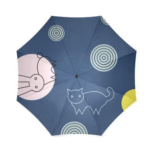 Meow Foldable Umbrella - Cute Cats Store
