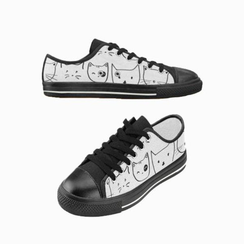 Image of cat casual shoes - Cute Cats Store