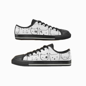 Personalized Women cat Shoes - Cute Cats Store