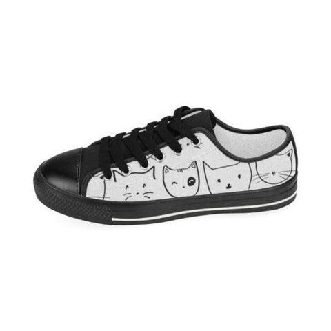 Image of shoes with cat faces - Cute Cats Store