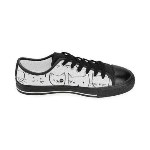Image of Kitty Black Women Shoes - Cute Cats Store
