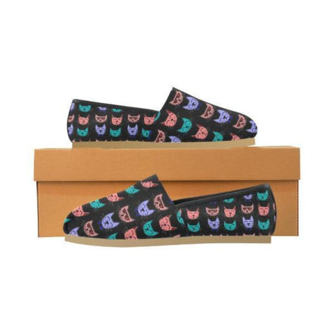 Image of Personalized Meow Shoes Design - Cute Cats Store