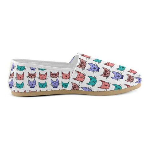 Image of slip ons cat lover shoes - Cute Cats Store